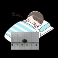 布団で寝る